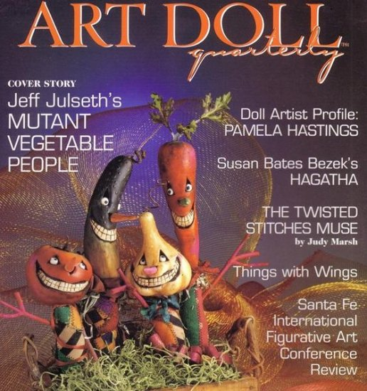 ART DOLL QUATERLY MAGAZINE ~ dolls ~ AUTUMN 2004 ISSUE 2~ VOL 2, click for more photos