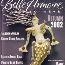 BELLE ARMOIRE MAGAZINE, ART TO WEAR, HANDMADE JEWELRY, CLOTHING, ACCESSORIES FALL 2002