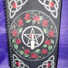 Pentagram with Roses Journal