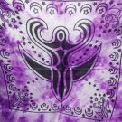 Purple Goddess Altar Cloth