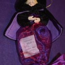 Purple Salem Witch Candy Bag