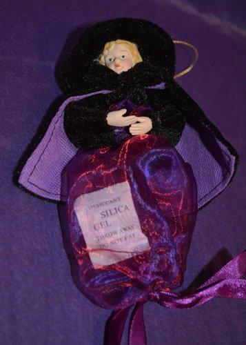 Purple Salem Witch Candy Bag