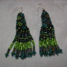 Green Dangle Earrings ER-2