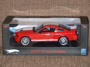 Hot Wheels Elite Red Mustang Shelby GT500