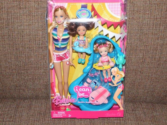 Mattel Barbie I can Be A Swim Instructor