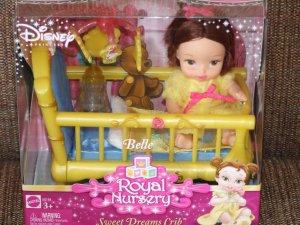 Belle Royal Nursery Sweet Dreams Crib Playset