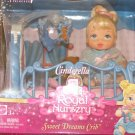 Cinderella Royal Nursery Sweet Dreams Crib Playset