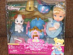 Disney Royal Nursery Cinderella Teeter-Totter Playset