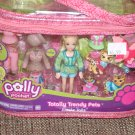 POLLY POCKETS TOTALLY TRENDY PET JUNGLE TAILS PLAYSET