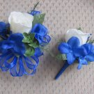 Corsage and Boutonniere Set for Wedding, Prom or Party 014set