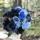 Blue Rose Hand Tied Bouquet for Weddings