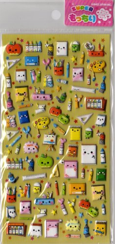 Kamio Happy Stationery kawaii sticker sheet