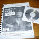 Barney Kessel Solo Jazz Guitar Arrangement with CD (Gibson archtop guitar)