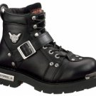 Harley Davidson Mens BRAKE BUCKLE Motorcycle Boots