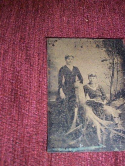 2-women Tintype