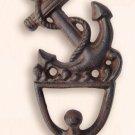 Cast Iron Antique Finish Ship Anchor Wall / Coat Hook - Nautical / Maritime - Free Ship!