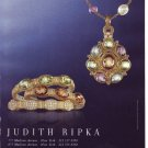 2006 Judith Ripka Jewelry Advertisement