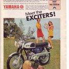 1960s Yamaha Exciters Rosemary's Baby Mia Farrow Advert