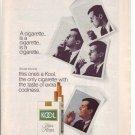 1960s Kool Filter Kings Cigarette Advertisement