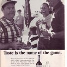 1960s Imperial Whiskey by Hiram Walker Advertisement