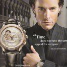2007 ZENITH Swiss Watch Manufacture Advertisement