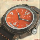 2007 ANONIMO Firenze Chinese Watch AD