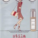 2001 Stila Liquid Makeup Skin Makeup Ad
