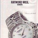 2001 Raymond Weil Geneve Parsifal Watch Ad