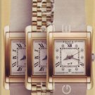 2001 Bedat & Co No 7 Gold Watch Neiman Marcus Ad