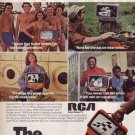 1976 ICEAC RCA Solid State TV Sportables Advertisement