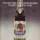 1976 Hofbrau Bavaria Beer ICEAC Advertisement