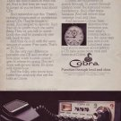 1976 Cobra CB Radio Citizens Band ICEAC Advertisement