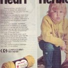 1974 Red Heart vs. Herbie Craft Knitting Advertisement