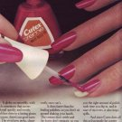 1974 Cutex Nail Polish Advertisement Women Girls