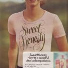 1974 Avon Sweet Honesty Advertisement