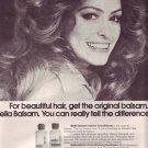 1974  Wella Balsam Shampoo & Conditioner Advertisement