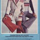 1974   Sears Mates/Junior Bazaar Advertisement