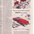 1950 Texaco Marfak Texas Company Lubrication Auto Ad
