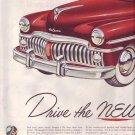 1950 New DeSoto Car Automobile Advertisement