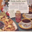 1950 Nescafe Coffee Magazine Advertisement