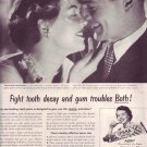 1950 Ipana Toothpaste Tooth Paste ICEAC Advertisement