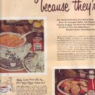 1950 Heinz Beans 57 Varieties ICEAC 2 pg Advertisement