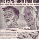 1950 Eversharp Schick Injector Mens Razor Advertisement
