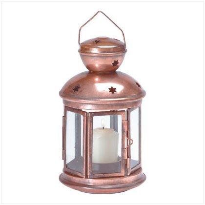 Star Pattern Metal Lantern patio, yard lighting