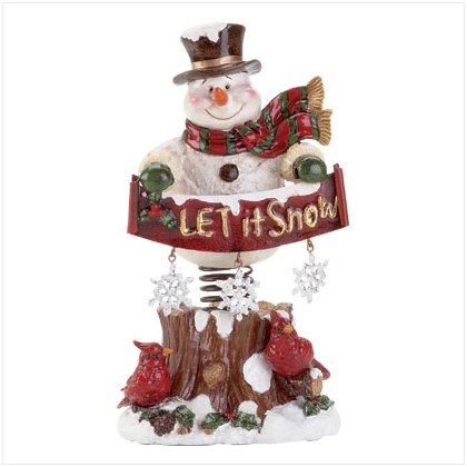 X-mas  let  it snow spring mount Snowman