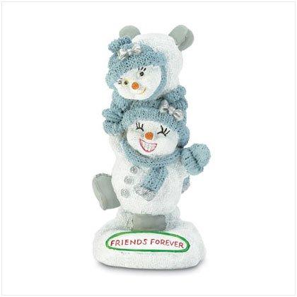 friends forever snow buddie figurine