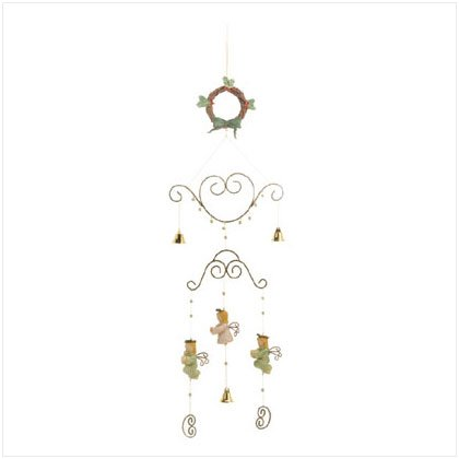 Garden and Patio accent.  Angels Wreath Mobile