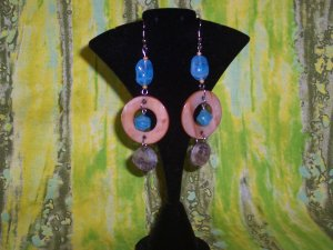 Blue Melody Earrings