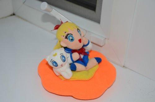 Sailor Moon Sailor Venus Mina Artemis cat plush doll Banpresto stuffed toy Asia