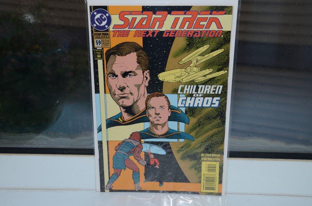EUC Star Trek The Next Generation DC Comic Book 59 May 94 Children of Chaos 1994